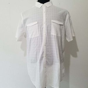 John Varvatos white double breasted pickets size l